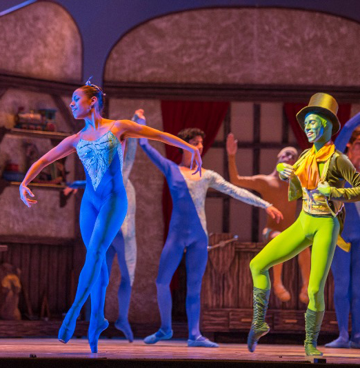 Pinocho, obra del Ballet de Cámara del Teatro Municipal de Santiago.