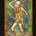 ANGEL VENGADOR, 1950, esmalte sobre cobre